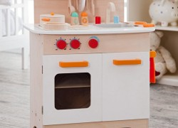 Enter to Win a Kids Play Kitchen
