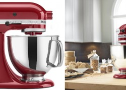 Enter To Win a Red KitchenAid Pro Series 5-Quart Mixer!