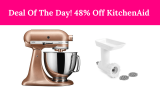 48% On KitchenAid Mixer & Attachment