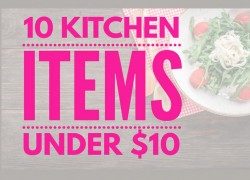 10 Kitchen Items Under $10 ! [ Plus, Free Shipping! ]