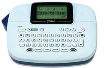 Brother's P-Touch Label Maker Only $9.99 (Reg. $27.08)!