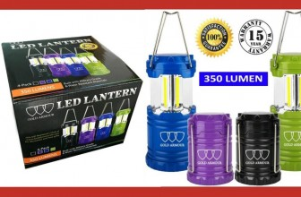 Four LED Lanterns for Camping & More Just $16.99 (Reg $69.99)