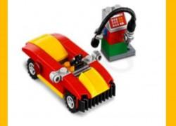FREE LEGO Car & Gas Pump at LEGO Stores