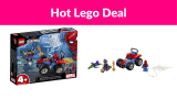 40% OFF LEGO Marvel Spider-Man Car Chase Building Kit