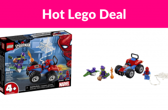 40% OFF LEGO Marvel Spider-Man Car Chase Building Kit
