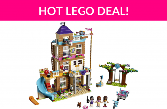 41% Off LEGO Friends Friendship House 41340 Kids Building Set with Mini-Doll Figures