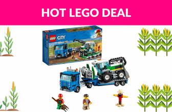 45% Lego City Great Vehicles Harvester Transport
