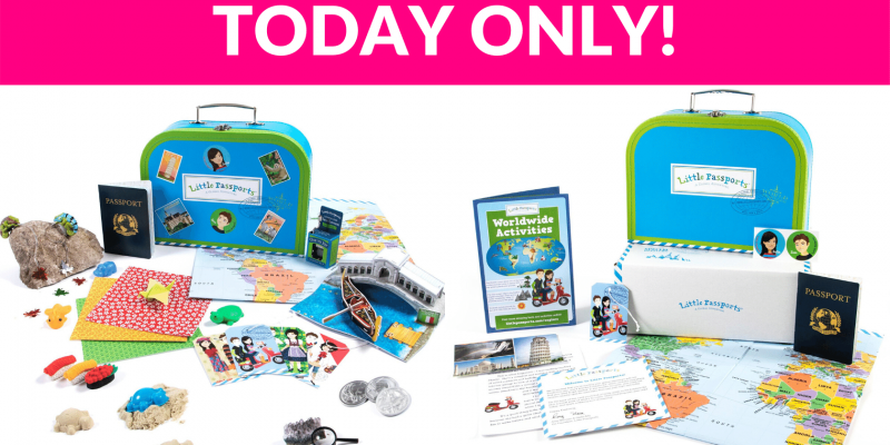 Little Passports World Edition – Subscription Box for Kids