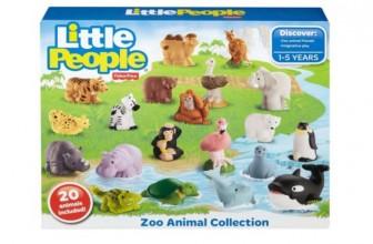 OMG – RUNNNN! HOT – 20 Little People Zoo Animals ONLY $15 ( Reg. $30 )