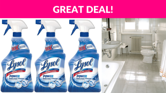 Lysol Power Bathroom Cleaner 3-Pack