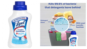 EPIC PRICE CUT! Lysol Laundry Sanitizer CHEAP!
