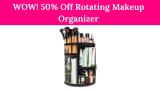 WOW! 50% Off Rotating Makeup Organizer