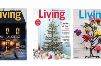 FREE Subscription to Martha Stewart Living Magazine!