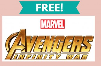 Free Avengers Craft & Collectible Pin