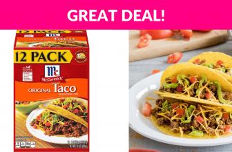 McCormick Original Taco Seasoning Mix, 12 pack