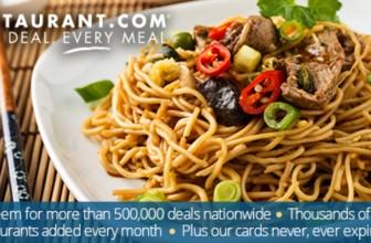 HOT!!!! Get $125 Restaurant.com eGift Cards for $25