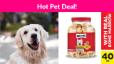 41% OFF! Milk-Bone MaroSnacks Dog Treats with Real Bone Marrow and Calcium