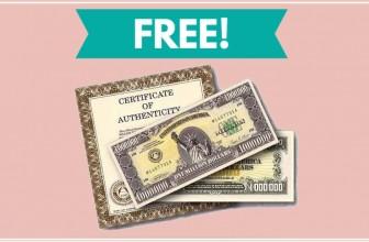 Who Wants a FREE MILLION DOLLAR Bill ?!?
