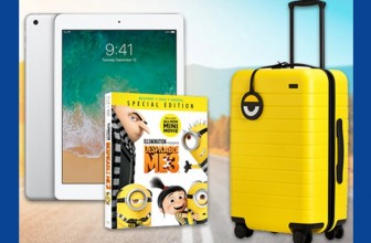 Win an iPad, DESPICABLEME 3 on Blu-ray Combo Pack + Carry On ($594 total value)