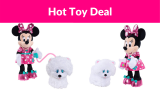 Minnie's Walk & Play Puppy Feature Plush For 66% OFF