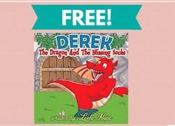 FREE Derek The Dragon Children's eBook