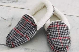 Pottery Barn Plaid MOCCASINS ONLY $10 [ Reg. $39.99 ! }