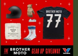 Valvoline Brother Motorcycle Gear Up Giveaway 1/9 26PH18+