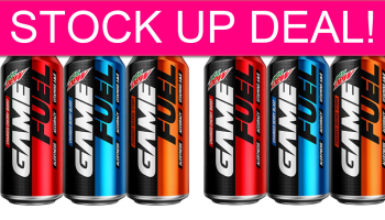 Mountain Dew Game Fuel Stock Up!