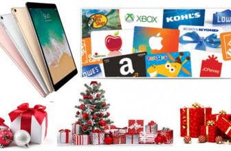 Enter TO Win an Ipad Pro, Gift cards and much more.