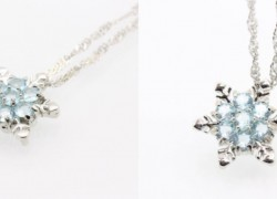 Beautiful Snowflake Necklace ONLY $2.06 SHIPPED!