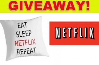 Netflix and Chill anyone?? Win 6 months of Netflix.