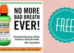 100% FREE After Rebate! Dr. Harold Katz Therabreath Mint Oral Rinse.