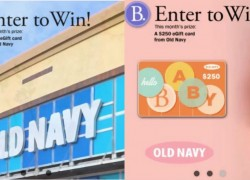 Win a $250 Old Navy gift card!