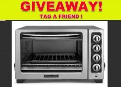 Win a KitchenAide Convection Countertop Oven! $94.99 Value!!