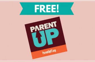 FREE Parent-Up Sticker! We LOVE FREE STICKERS!