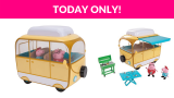 50% OFF! Peppa Pig Family Campervan Large Vehicle
