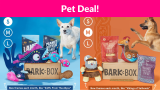Bark-Box Subscription Deal