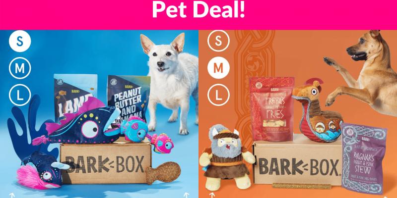 Bark-Box Subscription Deal