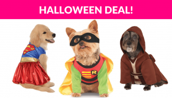 Pet Halloween Costume Deals!
