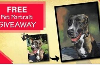 Win a Pet Portrait!