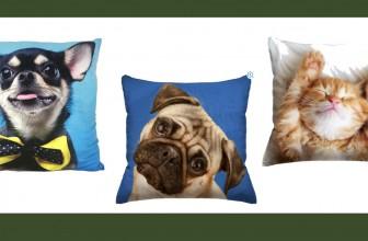 SO CUTE! Photo Real Pillows ONLY $3.00 Bucks ( Were $12 + )