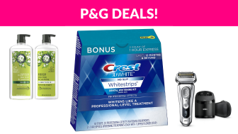 P&G Black Friday Sale on Amazon