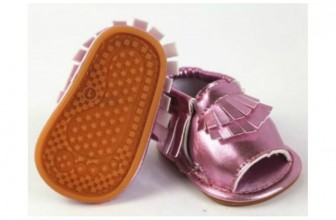 Adorable Baby Moccasins Only $5!