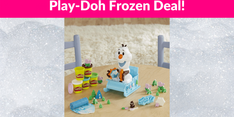 48% OFF! Play-Doh Featuring Disney Frozen Olaf's Sleigh Ride