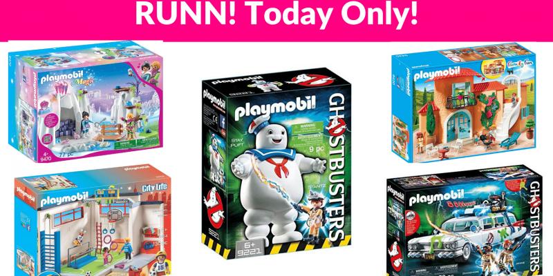 Runn! Playmobil Deals!