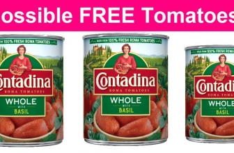 Possible FREE Contadina San Marzano Style Whole Canned Tomatoes!