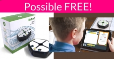 Possible FREE Coding Robot For Kids from IRobot ( $200 Value )!