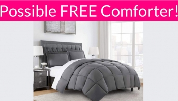 Possible FREE Comforter!
