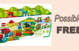 POSSIBLE FREE LEGO DUPLO All-in-One-Box-of-Fun !
