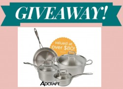 Win Adcraft 7-Piece Stainless Steel Cookware Set!